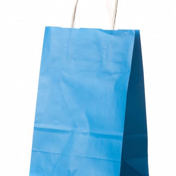 saco com asa retorcida azul claro