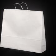 sacos com asa retorcida branco