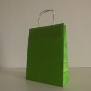 sacos papel liso verde alface